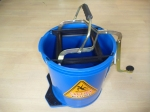 mop bucket auckland, sabco bucket, browns bucket, wringer bucket auckland, blue wringer bucket