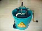 Auckland's cheapest wringer bucket, sabco bucket, green mop bucket auckland, commercial cleaning bucket auckland