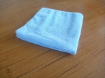 blue microfibre cleaning cloth auckland, glass cleaning cloth auckland, microfibre cleaning