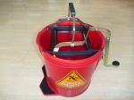 16 litre wringer bucket red mop bucket, wide mouth bucket, sabco bucket, mop bucket