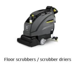 Karcher floor scrubber
