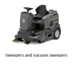 Karcher sweeper