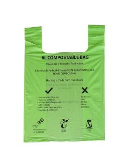 8L compostable bag for food waste