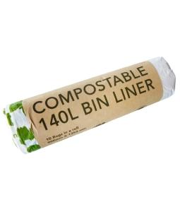compostable 140L commercial bin liner ED-2140