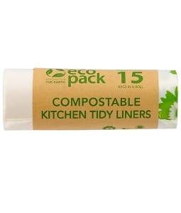 compostable 36L large kitchen tidy liners ED-2036