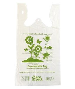 Compostable check out bag ED-202-N