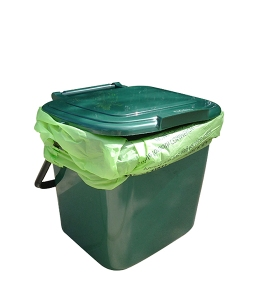 kitchen caddy bin compost collector 8L, compost collection bin, compost bin