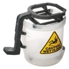 full plastic clear/seet through bucket with no metal rod