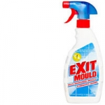 exit mould, mould remover, spray and walk away