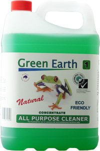 Green Earth All Purpose Cleaner 5 litre, green earth chemicals, eco chemicals, green earth supplier Auckland