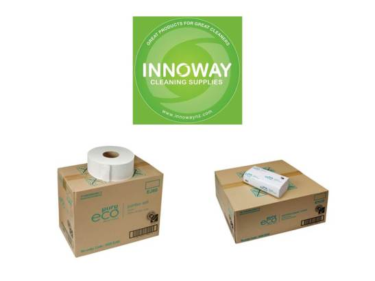 Eco friendly toilet paper