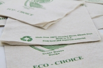Sharp eco choice 2ply dinner serviettes, eco serviettes, eco napkin, eco choice dinner napkin