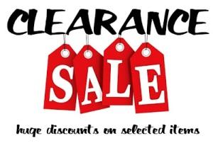cleaning products clearance sale