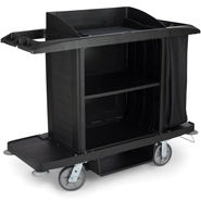rubbermaid classic housekeeping carts and accessories