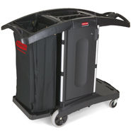 rubbermaid compact housekeeping carts