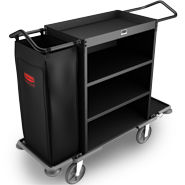 rubbermaid house keeping carts