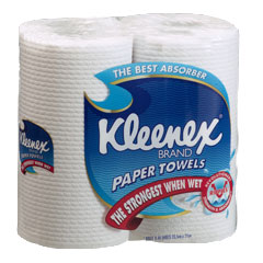 Kimberly Clark kleenex kitchen towel 4430, kleenex kitchen towels