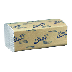 Kimberly Clark Scott Interfold Hand Towel 1742, Scott interfold hand towels, kimberly clark interfold hand towel