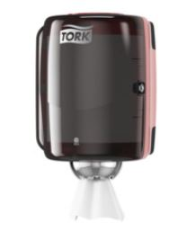 tork centrefeed dispenser red smoke