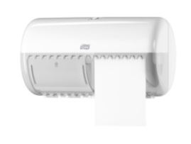 tork conventional toilet roll dispenser white