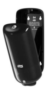 tork foam soap dispenser black