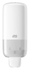 tork foam soap dispenser white