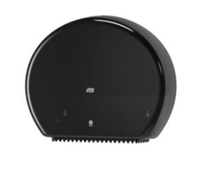 tork jumbo toilet roll dispenser black