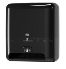 tork matic hand towel dispenser with intuition black