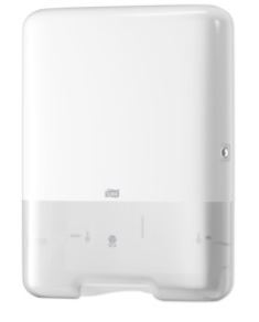 tork single fold hand towel dispenser white