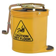 Yellow Wringer Bucket