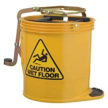 Yellow Wringer Bucket