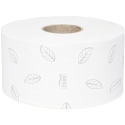 Tork 120280, Tork Recycled Mini Jumbo Toilet Roll, Tork T2 Refills, Tork mini jumbo toilet paper Advanced