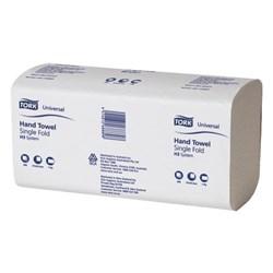Tork Universal Wide fold hand towel, Tork H31 Unversal Centrefold Hand Towels 1ply 2168889, Tork universal hand towel