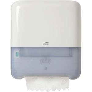 Tork sensor hand towel dispenser, Tork Matic Dispenser 551000, Tork Matic Hand Towel Roll Dispenser White