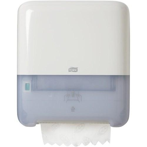 Tork sensor hand towel dispenser, Tork Matic Dispenser 551000, Tork Matic Hand Towel Roll Dispenser White