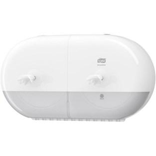 Tork SmartOne Twin Mini T9 Toilet Tissue Dispenser 682000 White