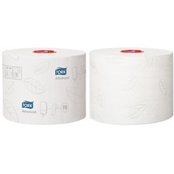 Tork T6 Advanced Mid Size Toilet Tissue 2ply 127530