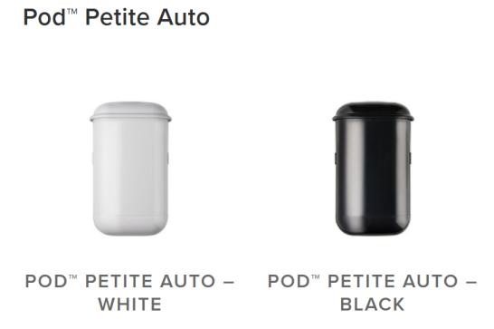 Pod Petite Auto, Pod Petite Manual, Pod Petite NZ, Pod Petite distributor NZ, Sanipod NZ