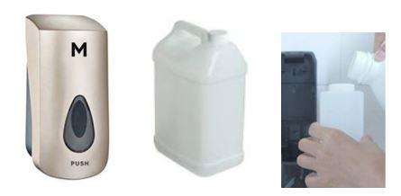wall mounted hand sanitiser dispenser, hand sanitiser, hand sanitiser dispensers